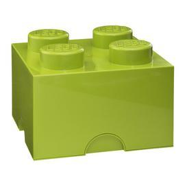 image-Brick Toy Box LEGO Finish: Lime