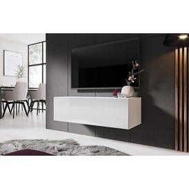 """image-Soper Entertainment Unit for TVs up to 42"""" Metro Lane Colour: White"""