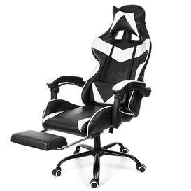 image-Kiran Gaming Chair Mercury Row Colour: ,Black& White