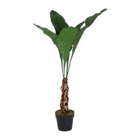 image-Silk-ka - Artificial Alocasia Plant - Green