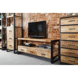 image-Cosmo 3 drawer TV unit