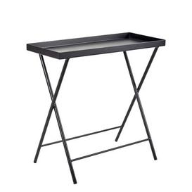image-Plant stand - / End table - L 62 x H 60 cm by Serax Black