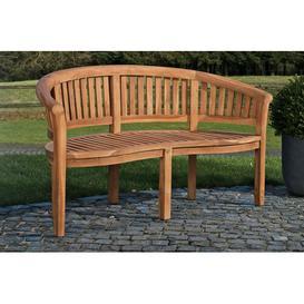 image-Rita Teak Bench Sol 72 Outdoor Size: 84cm H x 200cm W x 64cm D