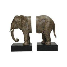 image-Loxo Elephant Bookends