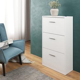 image-12 Pair Shoe Storage Cabinet Mack + Milo Finish: White