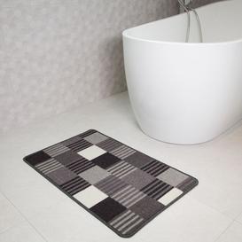 image-Geometric Washable Rug