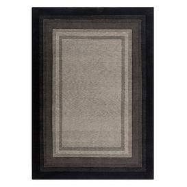 image-Nightlight Hand Knotted Wool Brown Rug Prolana Naturbettwaren