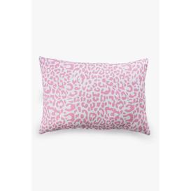 image-Animal Print Pink Bath Pillow