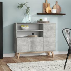 image-Torpoint Sideboard Fj├╕rde & Co Colour: Grey
