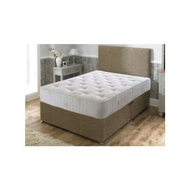 "image-Bed Butler Pocket Royal Comfort 3000 Divan Set - Small Double (4' x 6'3""), Soft, 4 Drawers, Hyder_Hercules Brown"