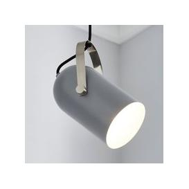 image-Cameron Camera Head Pendant Ceiling Fitting Grey