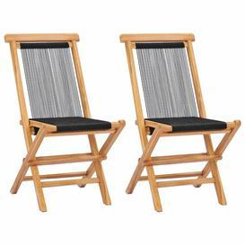 image-Switzer Folding Garden Chair House of Hampton