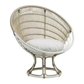 image-Sika-Design - Luna Outdoor Lounge Chair - Dove White B450