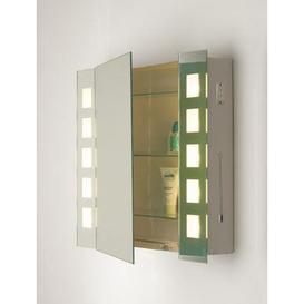 image-ZEN99 Zenia IP21 Bathroom Mirror Cabinet