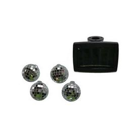 image-Bright Garden 10 Solar Disco Ball Colour Changing String Lights