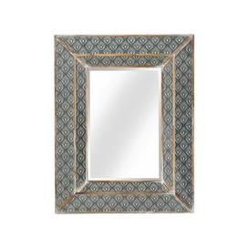 image-Ralston Wall Mirror In Aztec And Peruvian Design