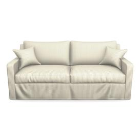 image-Stopham 3 Seater Sofa in Cotton Stripe- Airforce