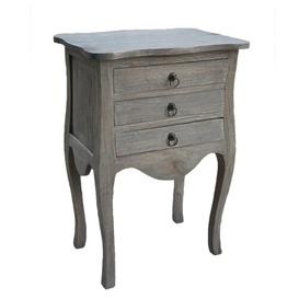 image-Morefield Side Table with Storage Blue Elephant Colour: Grey