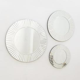 image-Bond Sunshine Venetian Bevelled Bathroom Mirror Rosdorf Park Size: 80cm H x 80cm W