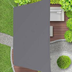 image-Eberhard 5.5m x 4m Shade Sail Sol 72 Outdoor Colour: Grey