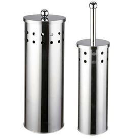 image-Free-Standing Toilet Brush & Holder Croydex
