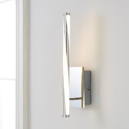 image-Hettie Intergrated LED Wall Light Silver
