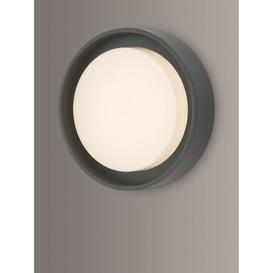 image-Där Ralph LED Small Flush Outdoor Wall Light, Anthracite
