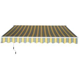 image-Poynor W 3.5 x D 2.5m Retractable Patio Cover Awning Sol 72 Outdoor