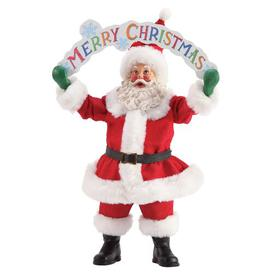 image-Merry Christmas Figurine Possible Dreams
