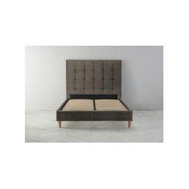 "image-Hopper 4'6 Double Bed Frame in Tortellini\"""