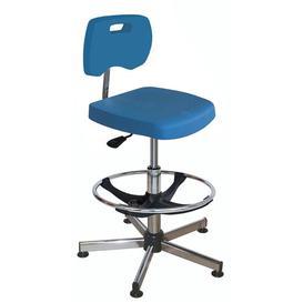 image-Meadors Draughtsman Chair Ebern Designs Colour: Blue