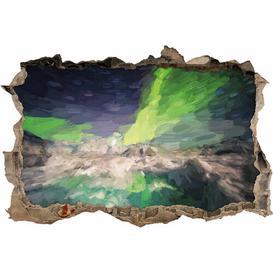 image-Tremendous Northern Lights Wall Sticker East Urban Home Size: 42cm H x 62cm W x 0.02cm D