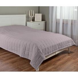 image-Madrid Bedspread Dekoria Colour: Antique pink, Size: 170cm W x 210cm L