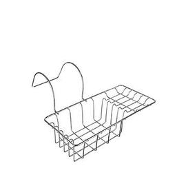 image-Premier Housewares Over Side Bath Rack