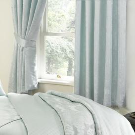 image-Rosamond Curtains ClassicLiving Size per Panel: 167.64 W x 137.16 D cm, Colour: Blue
