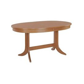 image-Nathan - Classic Oval Extending Dining Table - Brown