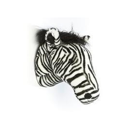 image-Daniel the Zebra Kids Plush Animal Head Wall Decor
