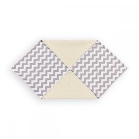 image-Chevron Baby Blanket KraftKids Colour: Grey