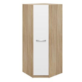 image-Marisol 1 Door Corner Wardrobe Mercury Row