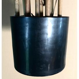 image-Tarik Floor Bamboo Tree in Pot artplants.de Size: 210cm H x 95cm W x 95cm D, Flame Retardant: No