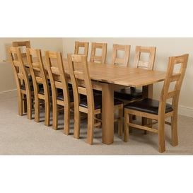 image-Kenia Dining Set with 10 Chairs Rosalind Wheeler