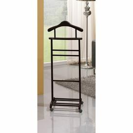 image-Ahearn Valet Stand Ophelia & Co. Finish: Oak Dkp