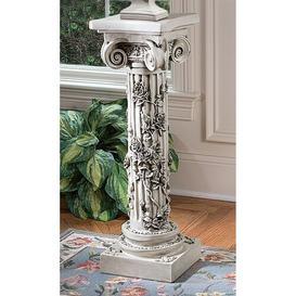 image-The Rose Garland Sculptural Pedestal
