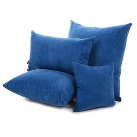 image-Millste Scatter Cushion with Filling Ebern Designs Size: 55 x 55cm, Colour: Blue