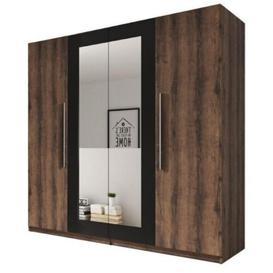 image-Vers 2 Door Wardrobe Selsey Living Colour: Oak/grey