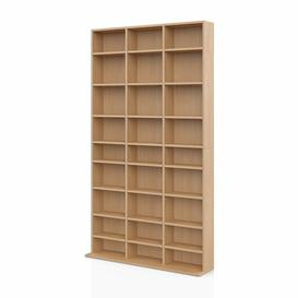 image-Mercury Row Multimedia Open DVD/CD Shelf Mercury Row Colour: Beech