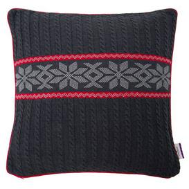 image-T-Winter Braid Cotton Cushion Cover Tom Tailor