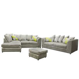 image-Hoch 5 Piece Sofa Set Brayden Studio Upholstery: Beige, Orientation: Left Hand Facing
