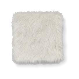 image-Sherpa Seat Pad Square Seat Pad Cream