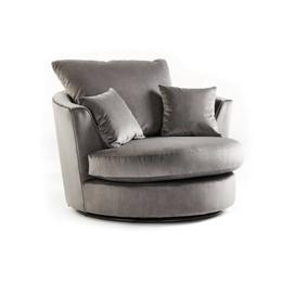 image-Bost Swivel Tub Chair Canora Grey